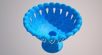 3d model jar fruit