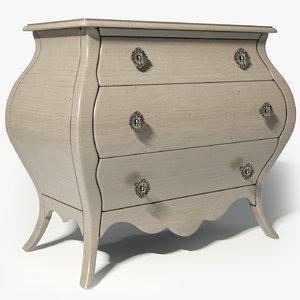3d model hooker furniture chest sku:638-50179