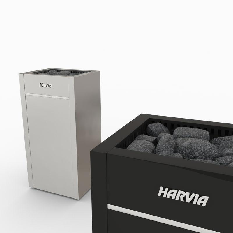 3d harvia virta model