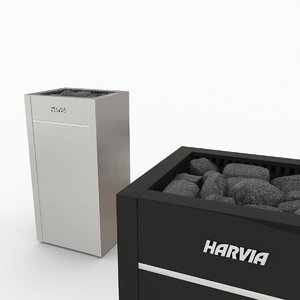 3d harvia virta model