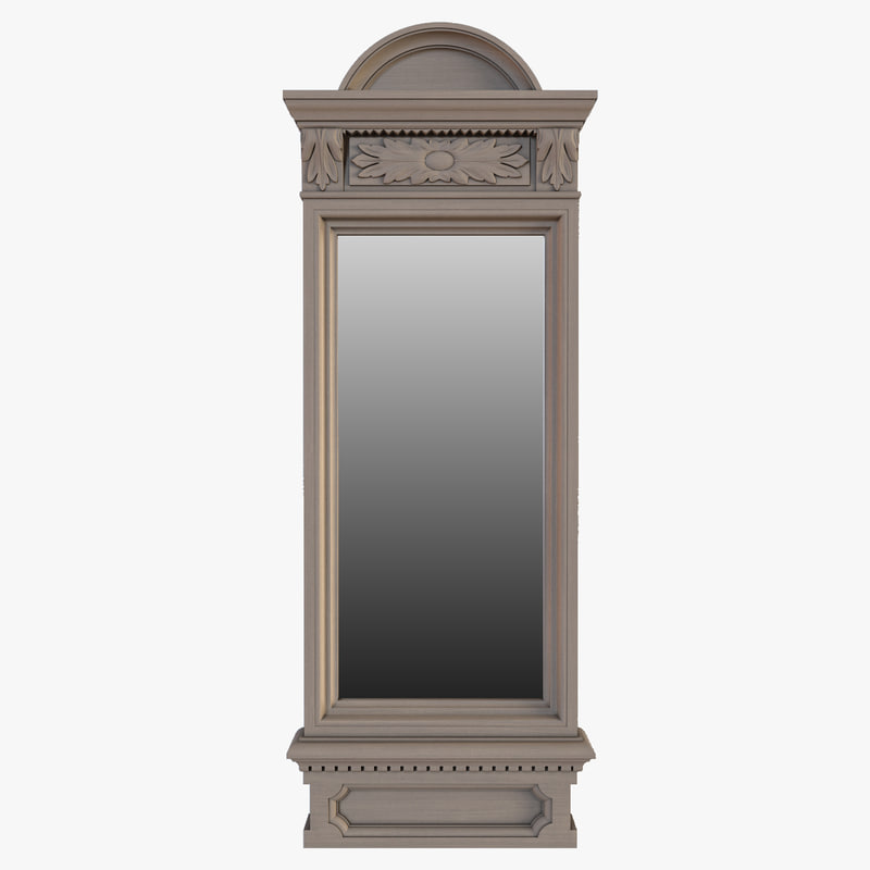 photorealistic mirror restoration hardware max