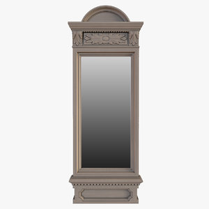 photorealistic mirror restoration hardware max
