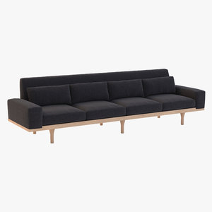 3d australia sofa seat model