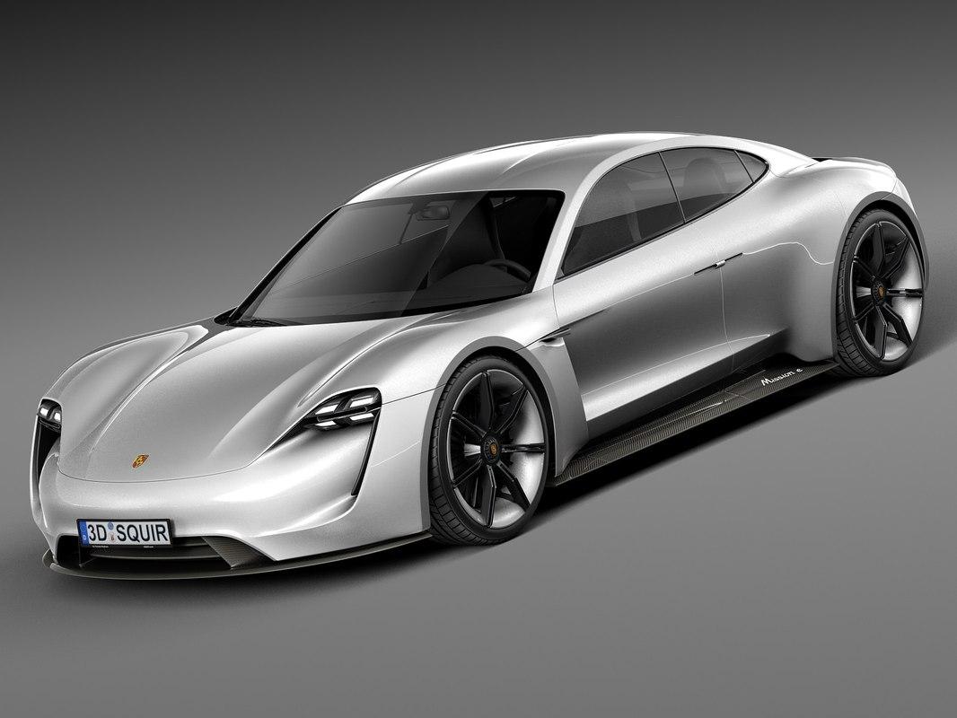 2015 porsche concept 3d model