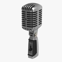 3ds max classic studio microphone 2