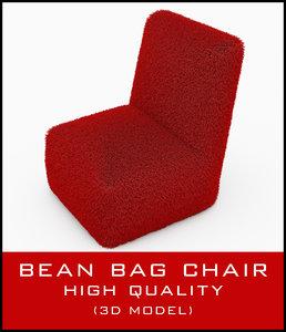 max bean bag chair fur