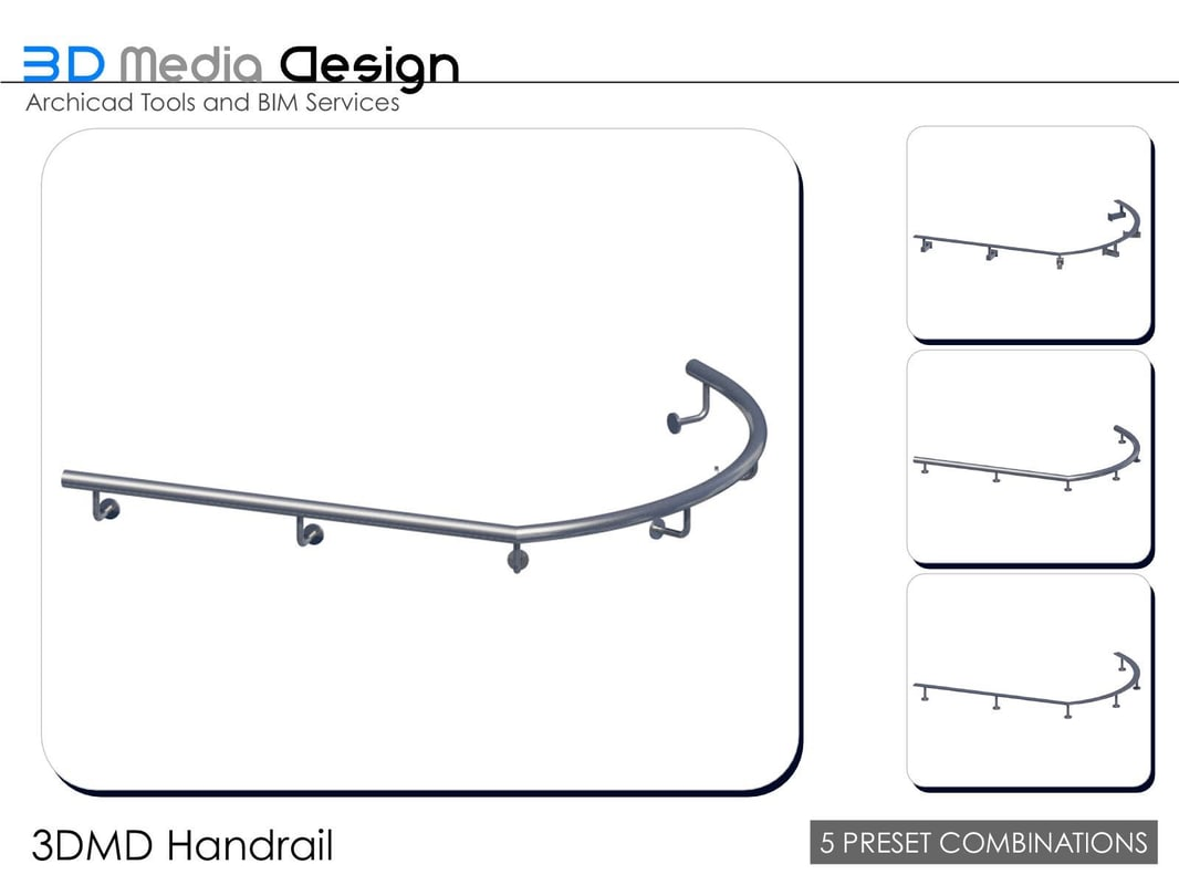 3dmd handrail 3ds