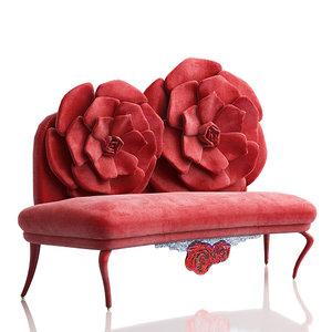 3d 3ds sofa la rose