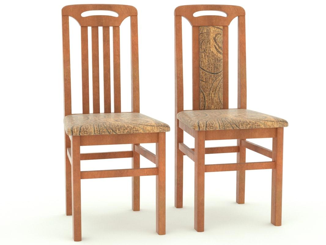 3ds kitchen chair