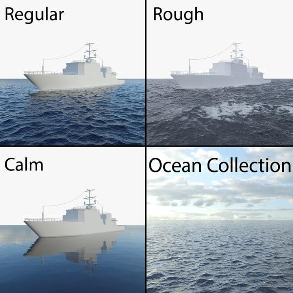 ocean weather water 3d max