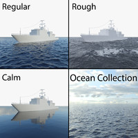 ocean weather water 3d max