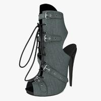 sandal 3d max