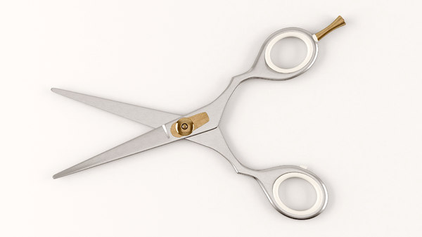 scissors 3d max