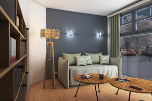 free max mode preview interior photorealistic