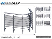 3dmd railings 3ds