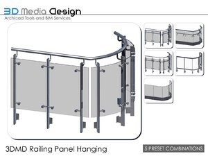 3d 3ds 3dmd railing panel hanging