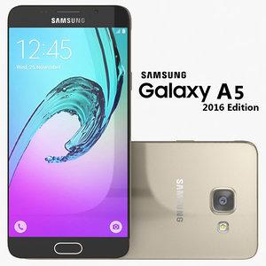samsung galaxy a5 2016 3d dxf