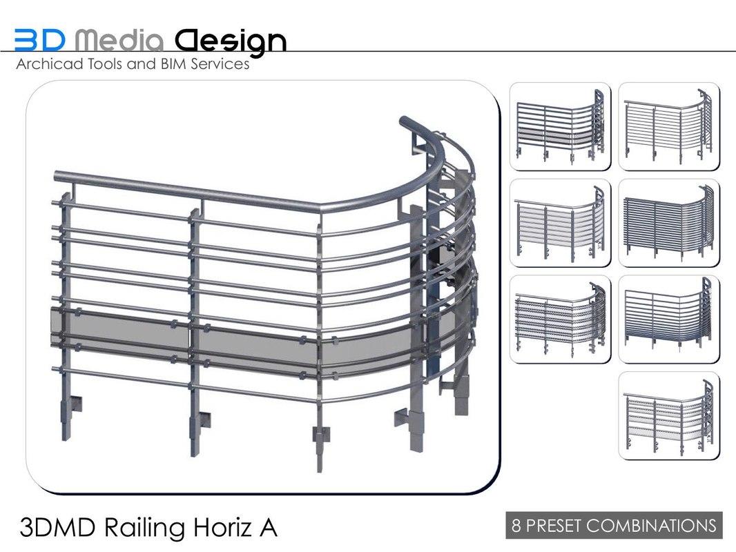3d 3dmd railings