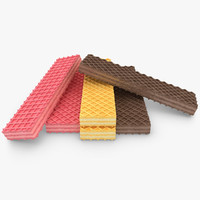 Wafer Cookie 3 Colors