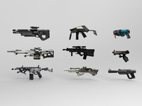 9 Modern Weapons Bundle