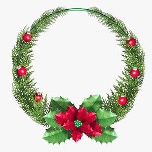 free max model christmas decoration