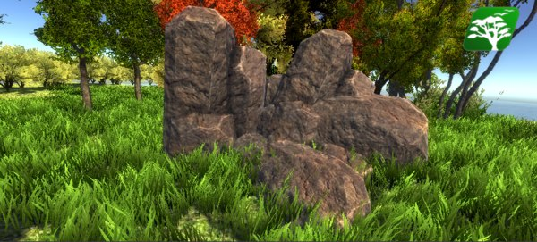 realistic rock 3ds free