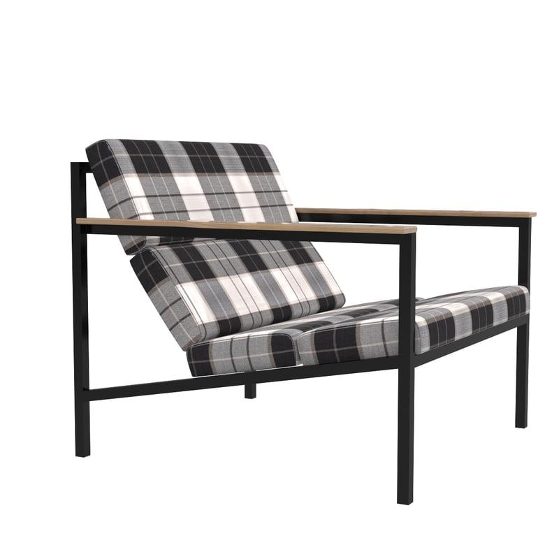 halifax chair 3d model