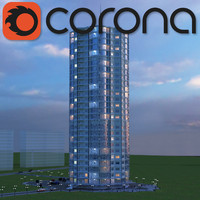 3ds multi-storey building