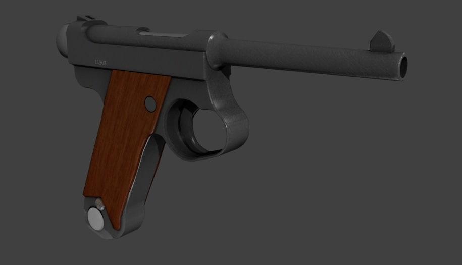 maya world war pistol nambu