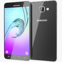 3d realistic samsung galaxy a7 model