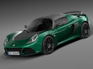 3d 2016 sport 350 model