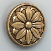 Round rosette 002