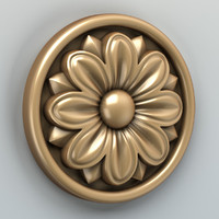 Round rosette 005