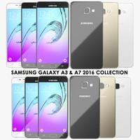 3ds realistic samsung galaxy a3
