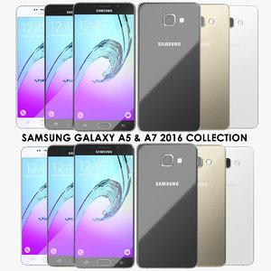 realistic samsung galaxy a5 3d x