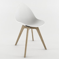 Ottawa Chair by Karim Rashid white seat