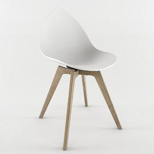 3d ottawa chair karim rashid model