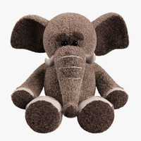 Plush Toy Elephant