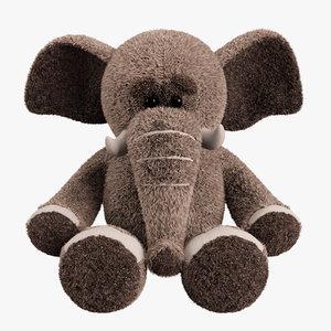 max plush toy elephant
