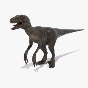 max realistic velociraptor raptor