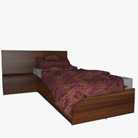 v-ray bed mattress 3d model