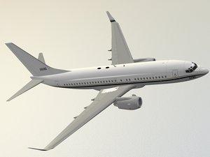max boeing 737-700 c-40a clipper