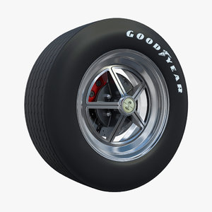 wheel shelby 3d max
