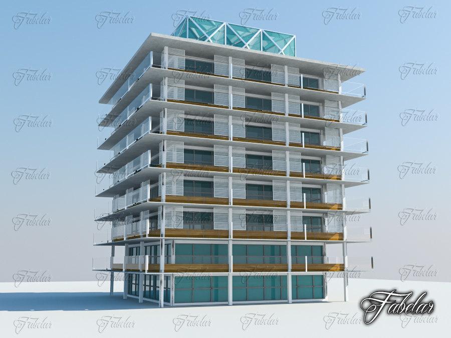 building mentalray modular 3d model