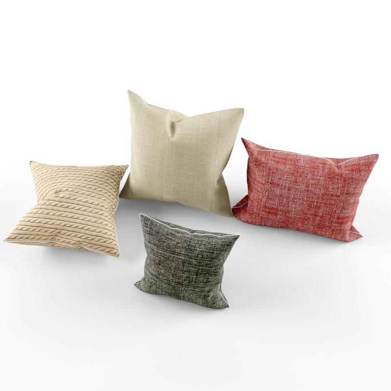 3d pillows