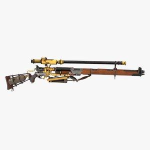 rifle metallic 3ds