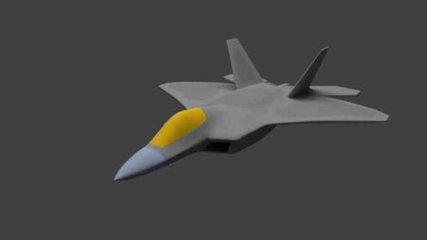 free blend model f - 22 raptor