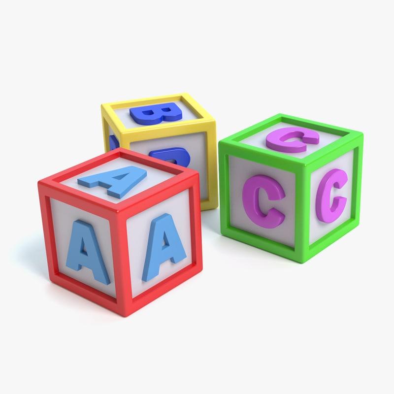 maya toy building blocks