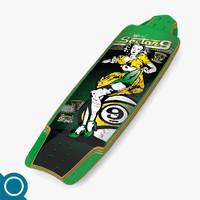 3dsmax tiffany longboard