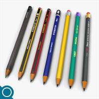 pencils drawings stationery obj